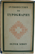 Introduction to Typography by Simon Oliver (1945)