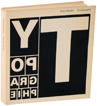 Typography: A Manual of Design by Emil Ruder (1967)