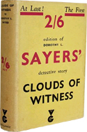 Cloud of Witness by Dorothy Sayers
