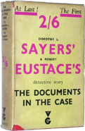 The Documents in the Case by Dorothy Sayers