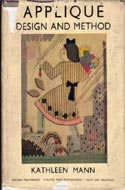 Appliqué Design and Method by Kathleen Mann (1941)