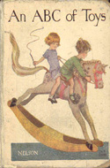 An ABC of Toys published by Thomas Nelson, illustrated by Phyl E. Webb
