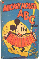 A Mickey Mouse ABC Story by Walt Disney