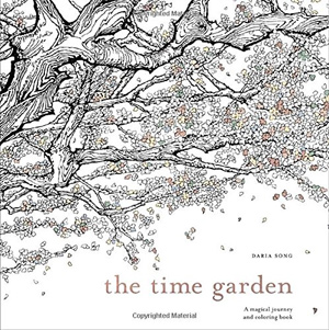 The Time Garden A Magical Journey And Coloring Book By Daria Song