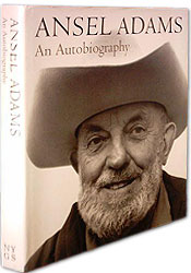 Ansel Adams: An Autobiography by Ansel Adams & Mary Street Alinder. Published in 1985, a year after the photographer's death. Contains almost 300 images.