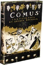 Comus by John Milton, illustrated by Arthur Rackham