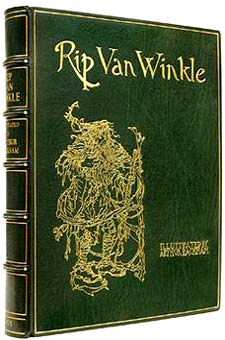 Rip Van Winkle by Washington Irving, illustrated by Arthur Rackham