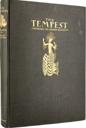 The Tempest by William Shakespeare, illustrated by Arthur Rackham