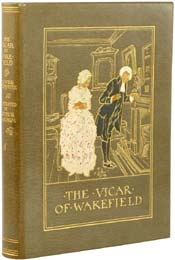 The Vicar of Wakefield by Oliver Goldsmith, illustrated by Arthur Rackham