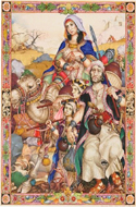The Book of Ruth illustrated by Arthur Szyk