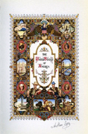 Visual History of the United States illustrated by Arthur Szyk