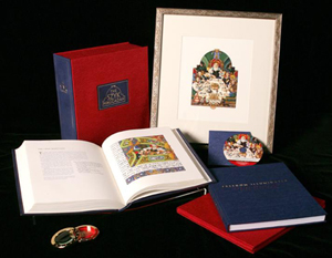 New premier edition of the Szyk Haggadah - 2008