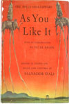 As You Like It by Shakespeare, Illustrated by Salvador Dali