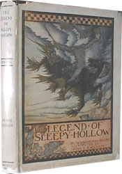The Legend of Sleepy Hollow by Washington Irving, illustrated by Arthur Rackham