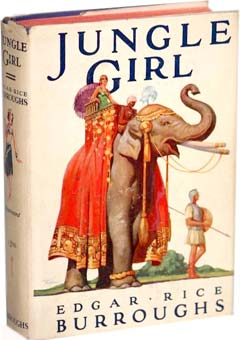 Jungle Girl by Edgar Rice Burroughs