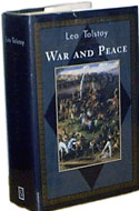 War and Peace - Leo Tolstoy: 1999 First Thus. Edition Hardcover