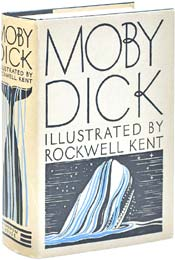 Moby Dick by Herman Melville, illustrated by Rockwell Kent