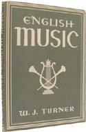 English Music by W.J. Turner