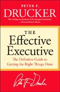 Effective Executive by Peter F. Drucker