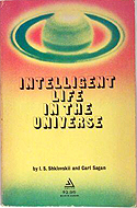 Intelligent Life in the Universe coauthored with I.S. Shklovskii (1966)