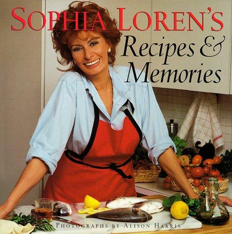 Abebooks unlikely celebrity cookbooks sophia lorens recipes and memories by sophia loren forumfinder Gallery