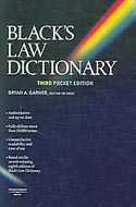 Black's Law Dictionary by Henry Campbell Black, 0314158626