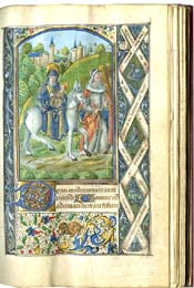 Book of Hours, Illuminated Manuscript