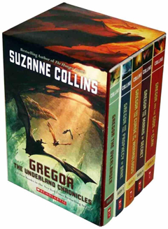 Gregor the Underland Chronicles by Suzanne Collins