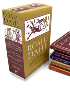 Roald Dahl Hardcover Boxed Set