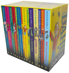 Roald Dahl Collection: 15 Paperback Book Boxed Set
