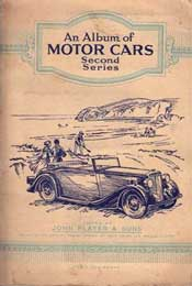 An Album of cards depicting Motor Cars, circa 1940s/1950s.