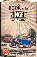 The Book of the Singer Junior by G.S. Davison