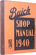Buick Shop Manual 1940