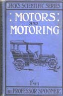 Motors and Motoring by Professor Spooner