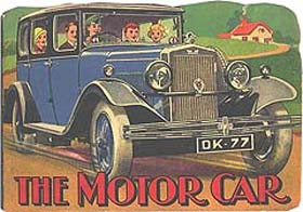 The Motor Car - a Shape Book from 1935