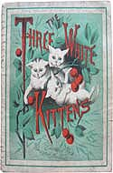 Three white Kittens by Aunt Louisa