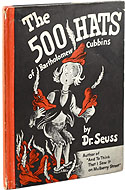 The 500 Hats of Bartholomew Cubbins First Edition, Signed by Dr. Seuss