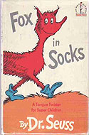 Fox in Socks, First Edition, First Printing by Dr. Seuss