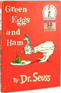 Green Eggs and Ham, First Edition, First Printing by Dr. Seuss