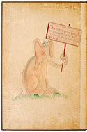 Horton Hatches the Egg Original Drawing by Dr. Seuss