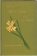 A Dream of a Garden and Other Poems by Ellen Clare Pearson