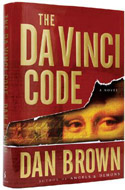 First edition of the Da Vinci Code, signed by Dan Brown
