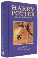 1st edition copy of Harry Potter and the Goblet of Fire, signed by J.K. Rowling