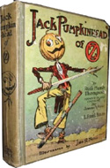 Jack Pumpkinhead of Oz by Ruth Plumly Thompson
