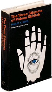 First edition, first printing of Philip K. Dick's The Three Stigmata of Palmer Eldritch