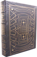 Limited leather-bound copy of From the Dust Returned from Easton Press, written by Ray Bradbury