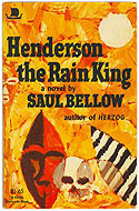 US paperback Henderson the Rain King - Saul Bellow