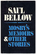 US first edition Mosby's Memoirs - Saul Bellow