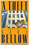 US first edition paperback A Theft - Saul Bellow