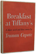US first edition Bfreakfast at Tiffany's - Truman Capote